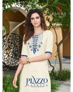 bundle of 6 kurti with bottom Plazzo Express by kanika