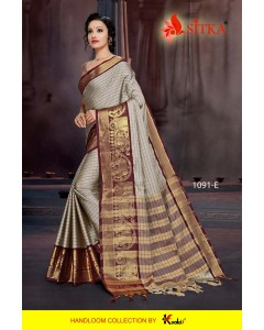 BUNDEL OF 6 SAREE TORAN SILK 1091 COTTON SILK WHOLESALE SAREE
