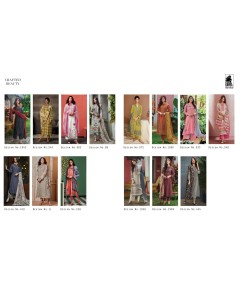 bundle of 14 salwar kameez - Crafted Beauty by Sahiba