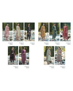 bundle of 10 salwar kameez - Kasuti by Sudriti Sahiba