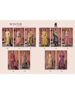 bundle of 10 salwar kameez - Winter Bloom by Sahiba