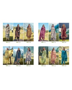 bundle of 12 salwar kameez - Mahira by Sahiba