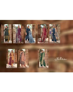bundle of 8 salwar kameez - Nitra by Sahiba