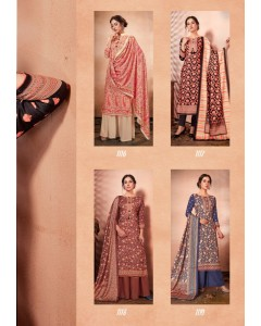 bundle of 4 salwar kameez - Silk by Bispon
