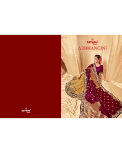 BUNDLE OF 8 WHOLESALE SAREE CATALOG   ARDHANGINI - BY SATYAM SAREE
