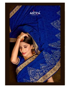 BUNDLE OF 10 WHOLESALE SAREE CATALOG SUNSHINE VOL 2 BY ANTRA