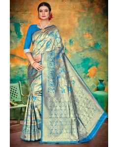 Jumble of 6 Wholesale Heavy Silk Saree for Womens