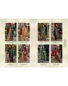 BUNDLE OF 8 WHOLESALE SALWAR SUIT CATALOG KARVA BY SAHIBA