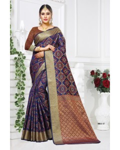BUNDLE OF 10 WHOLESALE SAREE CATALOG PATODA SILK
