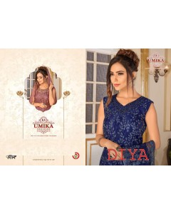BUNDLE OF 11 WHOLESALE GOWN CATALOG  DIYA BY UMIKA