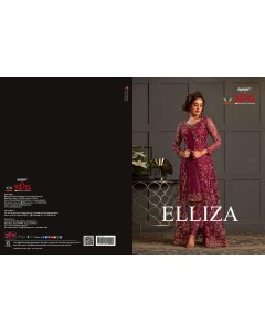 BUNDLE OF 8 WHOLESALE GOWN CATALOG Elliza Indo western gowns  BY VIPUL