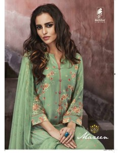 BUNDLE OF 11 WHOLESALE SALWAR SUIT CATALO   MAZEEN  BY  SAHIBA