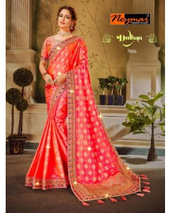 BUNDLE OF 6 WHOLESALE SAREE CATALOG DULHAN BY NAYMAR