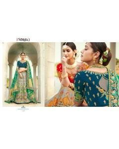 BUNDLE OF 11 WHOLESALE LEHENGA CATALOG   TATHASTU  - 4200 Series