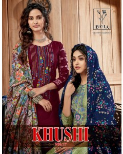 BUNDLE OF 10 WHOLESALE SALWAR SUIT CATALOG KHUSHI-7 BY BELA