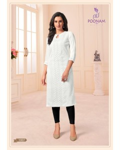 BUNDLE OF 7 WHOLESALE KURTI CATALOG  MAANNAT BY .POONAM