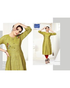 BUNDLE OF 17 WHOLESALE KURTI CATALOG INAS