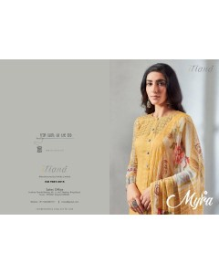BUNDLE OF 10 WHOLESALE SALWAR SUIT CATALOG MYRA BY ITRANA
