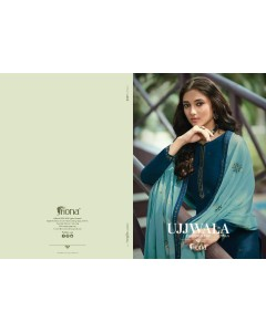 BUNDLE OF 7 WHOLESALE SALWAR SUIT CATALOG -UJJAWALA VOL-5. BY FIONA