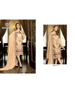 BUNDLE OF 6 WHOLESALE SALWAR SUIT CATALOG KITAB VOL-3            18019 BY HOOR TEX