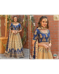 BUNDLE OF 6 WHOLESALE LEHENGA CHOLI CATALOG      Peafowl Vol-63