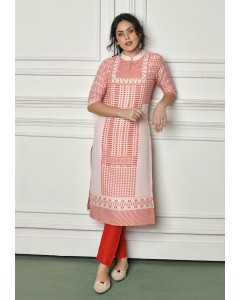 BUNDLE OF 4 WHOLESALE KURTI CATALOG - Viscose -1