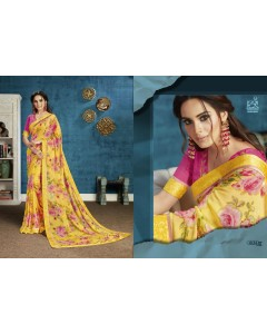 BUNDLE OF 12 WHOLESALE SAREE CATALOG  AARNA . BY Vishal Fashion
