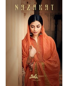 BUNDLE OF 9 WHOLESALE SALWAR SUIT CATALOG NAZAKAT BY BELA