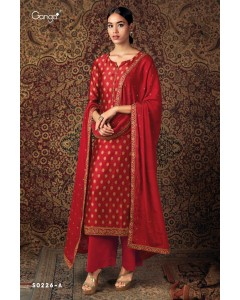 BUNDLE OF 4 WHOLESALE SALWAR SUIT CATALOG ZURI 226 BY GANGA