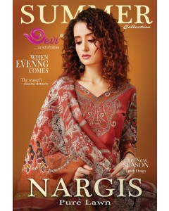 BUNDLE OF 10  WHOLESALE SALWAR SUIT CATALOG : Devi Nargis Pure Lawn