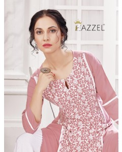 "BUNDLE OF 5 WHOLESALE KURTI CATALOG ""SCHIFFLII BY HAZEEL"""