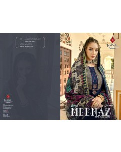 BUNDLE OF 8 WHOLESALE SALWAR SUIT CATALOG MEENAZ-MAL MAL JAM BY TANISHK FASHION
