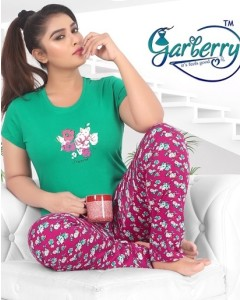 BUNDLE OF 6  WHOLESALE TOP CATALOG Garberry night dress vol 3 BY Garberry
