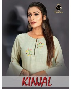 BUNDLE OF 5 WHOLESALE KURTI CATALOG  K D Kinjal