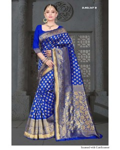 BUNDLE OF 4 WHOLESALE SAREE CATALOG    Taal-347 BY SITKA