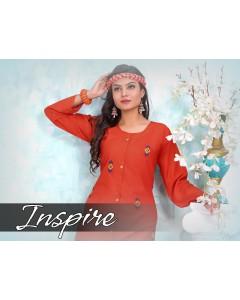 BUNDLE OF 8 WHOLESALE KURTI CATALOG      INSPIIRE  BY  TRENDY