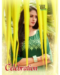 BUNDLE OF 8 WHOLESALE KURTI CATALOG    * CELEBRATION VOL 1 * BY BLUE HILLS