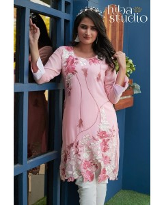 BUNDLE OF 3 WHOLESALE KURTI CATALOG LPC-29   - HIBA PREMIUM RANGE  BY Hiba Studio
