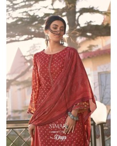 BUNDLE OF 8 WHOLESALE SALWAR SUIT CATALOG Glossy Diya