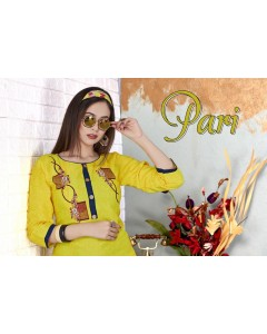BUNDLE OF 8  WHOLESALE KURTI CATALOG    PARI VOL.2 BY TRENDY