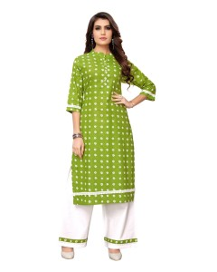 BUNDLE OF 3 WHOLESALE KURTI CATALOG AB KURTI PLAZO VOL 1