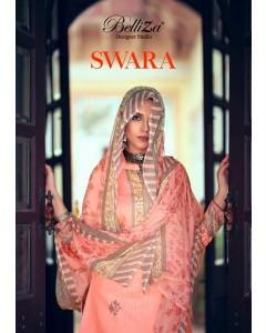 "BUNDLE OF 10 WHOLESALE SALWAR SUIT CATALOG  ""SWARA"" BY ..BelliZa DesigNer"
