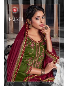 BUNDLE OF 6  WHOLESALE SALWAR SUIT CATALOG Kalash 3 BY AAA
