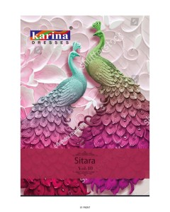 BUNDLE OF 12 WHOLESALE SALWAR SUIT CATALOG Karina Sitara vol 10
