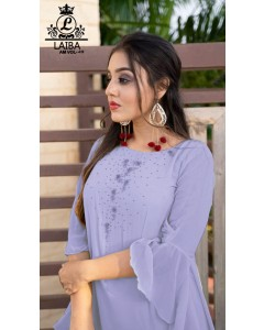 BUNDLE OF 5 WHOLESALE KURTI CATALOG   LAIBA THE DESIGNER STUDIO              AM VOL-49