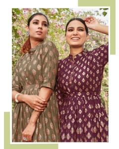 BUNDLE OF 8 WHOLESALE KURTI CATALOG STYLE OUT VOL 3 BY BLUE HILLS