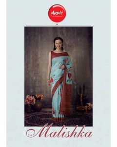 BUNDLE OF 8 WHOLESALE SAREE CATALOG MALISHKA BY APPLE SAREE